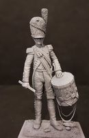 French Guard Artillery Drummer 90mm